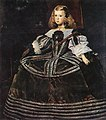 Juan Bautista Martínez del Mazo - Portrait of the Infanta Margarita - WGA14705.jpg