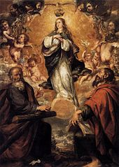 The Immaculate Conception with Saint Andrew and Saint Paul