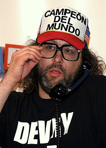 alt=Description de l'image Judah Friedlander at the 2008 Tribeca Film Festival.JPG.