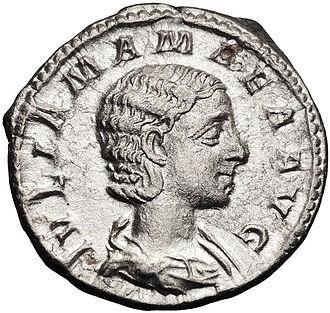 Julia Avita Mamaea - Antoninianus of Julia Mamaea