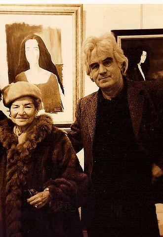 Juliet Man Ray - Juliet Man Ray with Reginald Gray