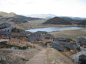 Korean drama -  MBC Dramia, a filming site where historical dramas for Munhwa Broadcasting Corporation are produced
