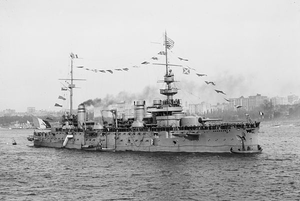 French Battleship Justice (1906)