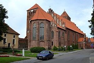 Kętrzyn - Image: Kętrzyn kościół1