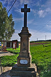 Kříž na křižovatce, Ptenský Dvorek, Ptení, okres Prostějov.jpg