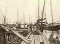 KITLV - 79908 - Kleingrothe, C.J. - Medan - Rochor, Singapore proa harbor - circa 1910.tif