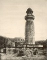 KITLV 377943 - Clifton and Co. - Elephants tower at Fatehpur Sikri in northern India - Around 1890.tif