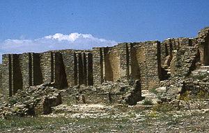 Hammadid dynasty - Image: Kalaa des Beni Hammad.5