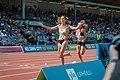 Kalevan Kisat 2018 - Women's 5000 m - Kristiina Mäki, Janica Rauma 2.jpg