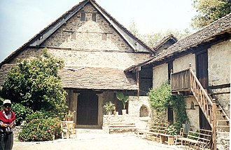 Kalopanagiotis - Image: Kalopanagiotis, Agios Ioannis Lampadistis Kirche, Troodos, Zypern (02)