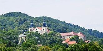 Kalwaria Zebrzydowska park - General view of the monastery