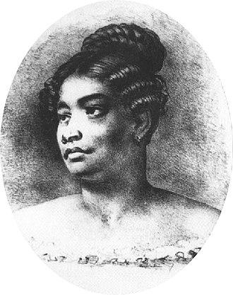 Kamāmalu - Image: Kamamalu, Liholiho's favorite wife