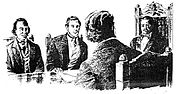 Kamehameha III conveys with Privy Council during the Paulet Affair