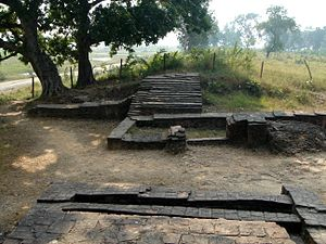 Remains of the Eastern Gate of Kapilavastu (al...