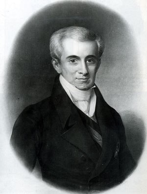 First Hellenic Republic - Ioannis Kapodistrias as Governor of Greece (Lithography, L. Nikiadis)