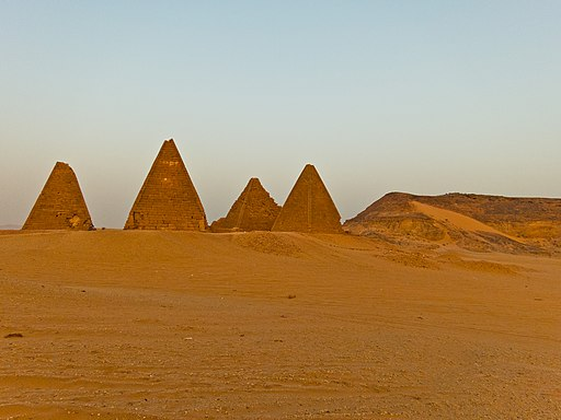 Karima Pyramids in Northern Sudan