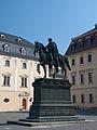 Karl August von Sachsen-Weimar-Eisenach Reiterstandbild, Weimar.jpg