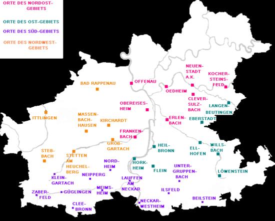 Region Heilbronn Franken Karte.Haalbrunner Dialekt Wikipedia