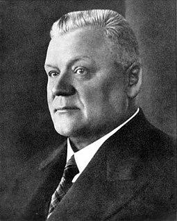 Kārlis Ulmanis Prime Minister of Latvia