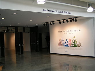 Katherine E. Nash Gallery - Entrance to the gallery