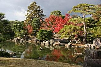 Katsura Imperial Villa - The pond