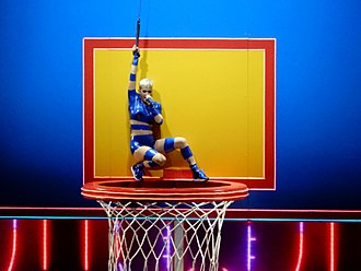 Swish Swish - Perry performing the song during her Witness: The Tour, in a basketball themed setting.