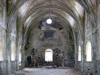 Kayaköy - An abandoned church