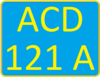 Kazakhstan tractor license plate.png