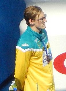 Mack Horton Australian freestyle swimmer