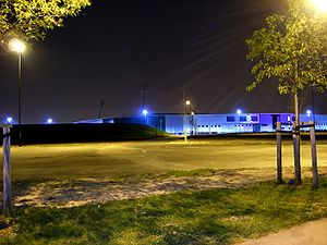 Keepmoat Stadium - Keepmoat Stadium at night