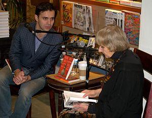 Keith Gessen - Gessen with Russian novelist Ludmilla Petrushevskaya in 2009