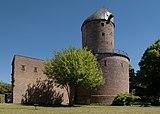 Kempen, die Kempener Turmmühle (zonder wieken) op de voormalige stadsmuur IMG 3111 2018-05-06 13.16.jpg