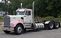 Kenworth W900 in pink and white (Garten Trucking, CT).jpg