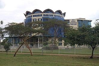 Kenyatta University - Image: Kenyatta Univ Library