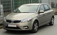 Kia cee'd Facelift front 20101012.jpg