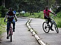 Kids riding bikes in dedicated paths.jpg