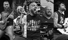 Killswitch Engage performing in 2014