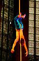 Kinderzirkus Giovanni, Seilakrobatik alleine kopfüber und freihändig, 6. Lange Nacht der Kirchen in Hannover, Marktkirche, 2012.jpg