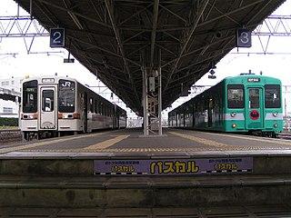 Kisei Main Line railway line in Japan