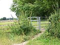 Kissing gate near Charlton all Saints - geograph.org.uk - 871458.jpg