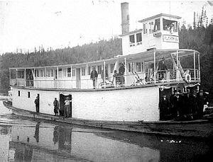 Klahowya (sternwheeler) - Klahowya on Columbia River