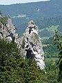 Klečící mnich z Janošíkového chodníků - panoramio.jpg