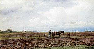 Mikhail Clodt von Jürgensburg - Image: Klodt na pashne 1