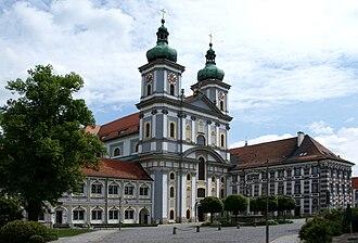 Waldsassen Abbey - The basilica of Waldsassen