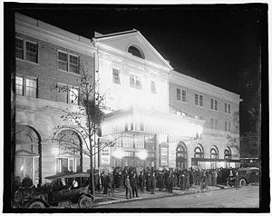 Knickerbocker Theatre (Washington, D.C.) - The Knickerbocker Theatre in October, 1917