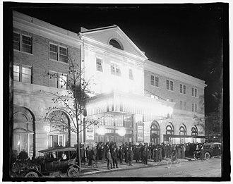 Knickerbocker Theatre (Washington, D.C.) - The Knickerbocker Theatre in October, 1917