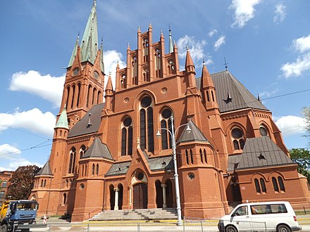 Saint Catherine of Alexandria church in Torun - a perfect example of Torun's Gothic Revival architecture Kosciol sw. Katarzyny w Toruniu44.jpg
