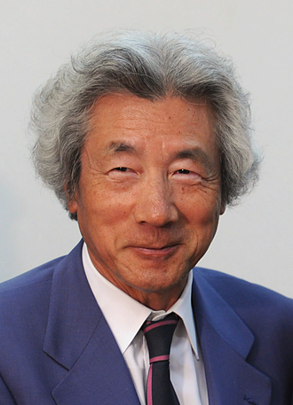 Junichiro Koizumi - Photo taken when Koizumi met with Brazilian President Luiz Inácio Lula da Silva in March 2010.