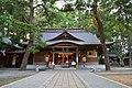 Komagata-jinja (Oshu) haiden.JPG