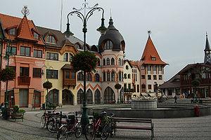 Komarno city centre